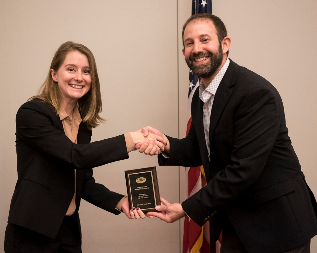 The Microsystems Technology Office (MTO) hosted the Young Faculty Award Pogram (YFA) at DARPA on October 29, 2015 in Arlington, Virginia. The objective of the DARPA FYA Program, is to identify and engage, rising research stars in junior faculty positions at academic and non-profit research institutions, and expose them to the Department of Defense (DOD) needs and DARPA's program development process. (Photo by: Sun L. Vega)